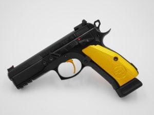 Altbewährte Leihwaffe mit kriminellem Abzug - CZ 75 SP-01 Shadow